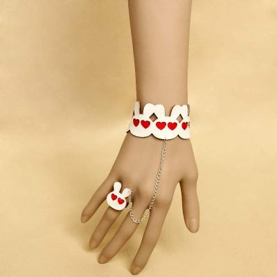 Cute Rabbit Bracelet and Ring for women