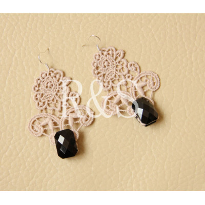 Handmade vintage style lace earrings wholesale and retail