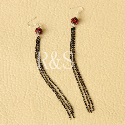 The newest Gothic style nice fringe design earrings