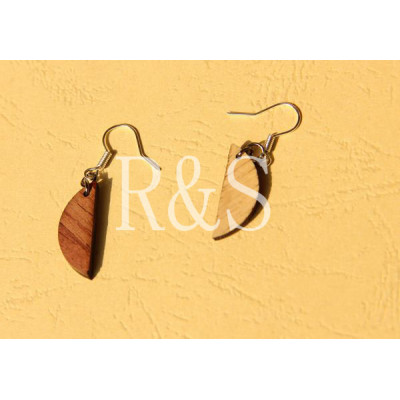 Mini leaves design lovely earrings for girls