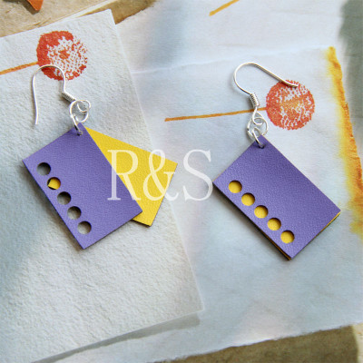 Special design mini cute colorful earrings for girls