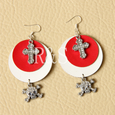 Latest new design stylish Earrings fashion earrings Skull Earrings
