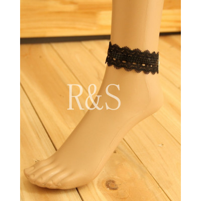 Dream City Black Lace Anklet Euro&America Fashion Design Anklet