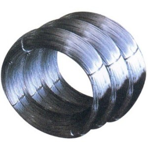 Alambre de acero templado negro