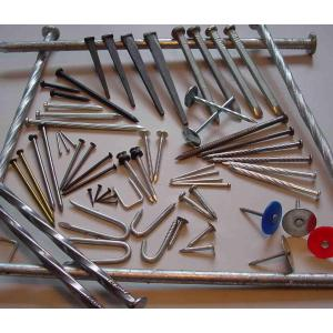 Clavos para hormigón de uso en construcción