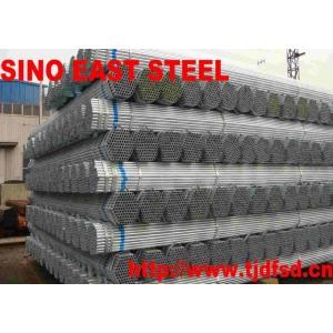 Rigido tubos de aceros galvanizados hecho de China