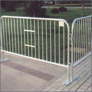 Poste de la cerca tubo de acero galvanizado