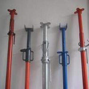 Adjustable powder coated scaffolding
