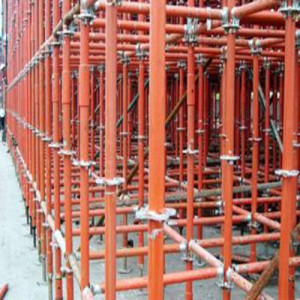 Q235 Tube Steel Cuplock Scaffolding for Construction