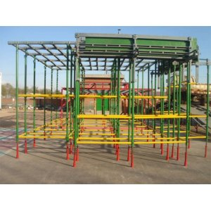 Steel Mason Frame Scaffold with Painted or Powder-coated Finish