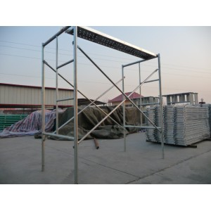 Powder Coated Scaffolding Frame