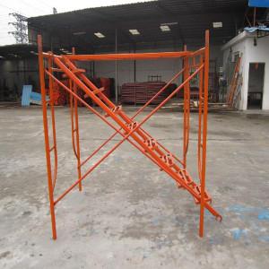 Pintado de acero de andamio para construccion