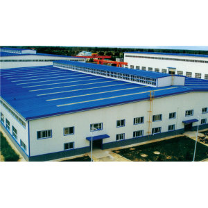 steel-structure with panels house for sale