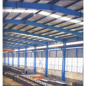 prefabricated metal building steel structure