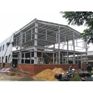 Prefabricated steel structure of metal