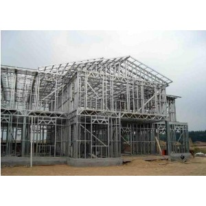 Doble construcciones de casa prefabricada diseño