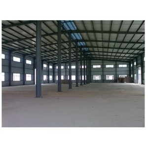 Prefabricated structural steel frame building