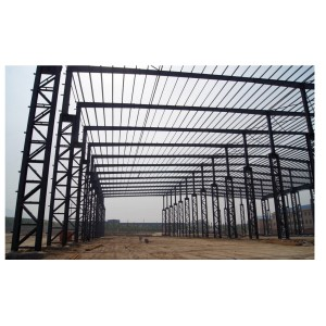 Prefabricated steel structural  for commercial building