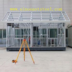 ISO 9001 prefabricadas marco de acero estructural