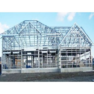 prefabricated light steel greenhouse