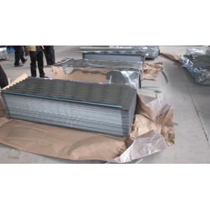 Láminas galvanizadas para techos/Material para techos