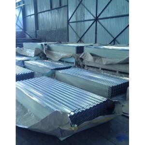 Láminas y planchas galvanizadas para techos(DX51D/ASTM A653)