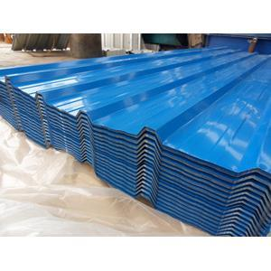 high quality color-coated corrugated roofing sheets