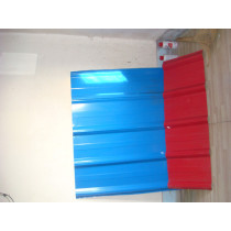 colorful corrugated roofing steel sheets from China factory