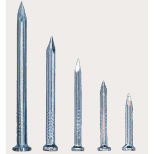 Galvanized carbon steel nail