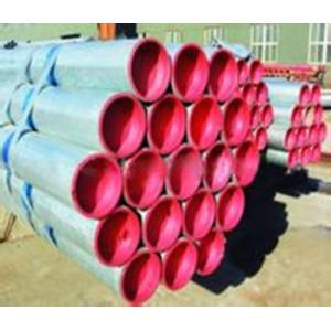 tubo de acero galvanizado por inmersion en caliente con plastico linea