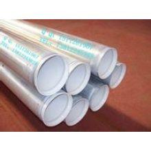 Tubo  de acero con plástico interior línea