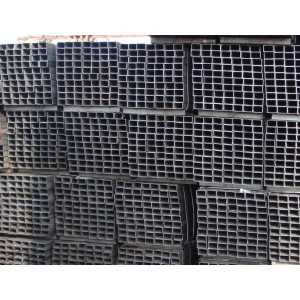 Tubos de aceros cuadrados al carbono Q235B hecha de China
