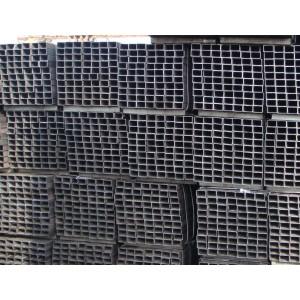 Tubos de aceros cuadrados galvanizados en caliente y tubos estructurales rectangulares con muchos tamaños