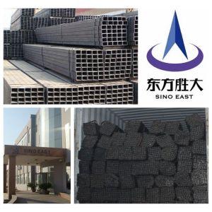 20*20mm zinc/ negro/tubos de aceros cuadrados por inmersión en caliente