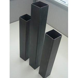 Tubo de aceros rectangular formado con laminado en frio