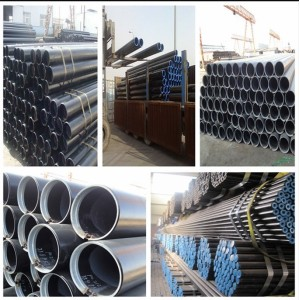 Tianjin ASTM A53 carbon seamless pipe for conveying gas, oil and water
