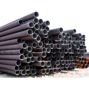 black sch40 astm a106 seamless steel pipe