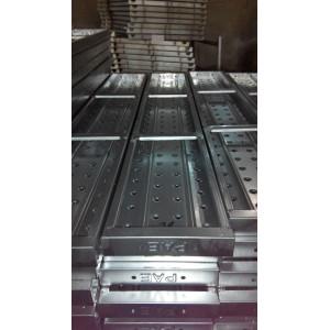 Galvanized scaffolding plank
