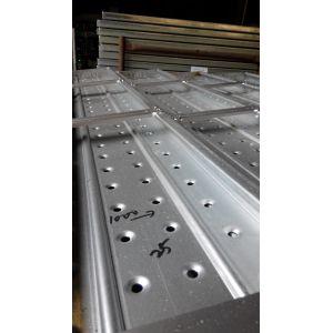 Plancha de andamiaje galvanizado de aceros