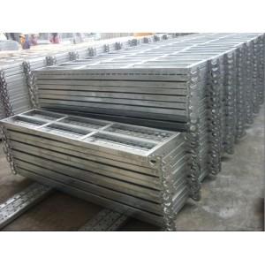 Plancha de andamiaje  de aceros