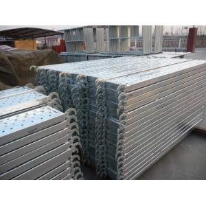 GI galvanized Scaffolding metal steel walk board with hook