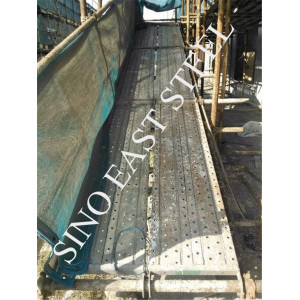 Junta por paseo andamios de acero de construcción utilizados con marco Andamio venta caliente en África, en Tianjin Fabricación