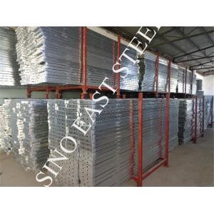 Plancha / tabla de pie de acero galvanizado para entramados