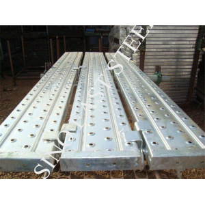 scaffold walking board, galvanized plank