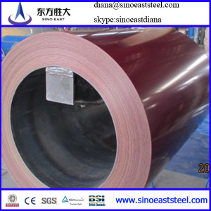 Red High quality PPGI coil for roof