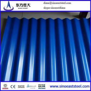 galvanized or color roofing  sheets