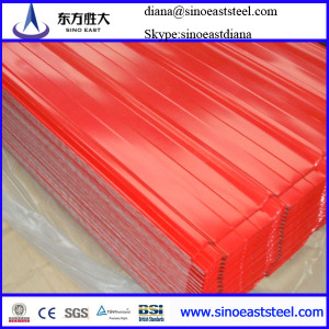 color contour steel roofing sheet