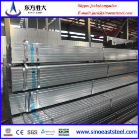 Galvanized rectangular steel pipe for construction