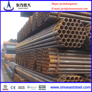 Black scaffolding steel tube ASTM A53