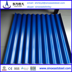 corrugated metal plate roofing sheet